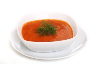 Supa crema de rosii si anghinare