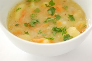 Supa de cartofi dulci si ghimbir