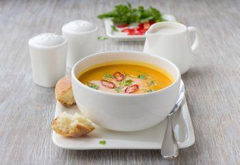 Supa de dovleac cu lapte