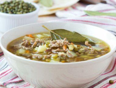 Supa de mazare si spanac