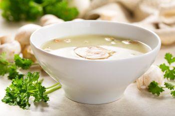 Supa sofisticata de ciuperci