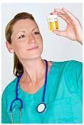 Testul de urina: culoare, pH, prezenta nitritilor si a proteinelor